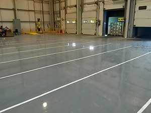 flowable epoxy resin screed