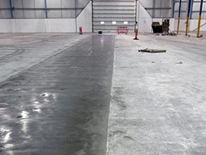 Concrete Slab Repair Floor