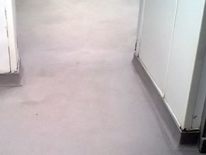 polyurethane resin screed