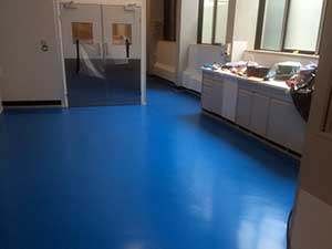 Epoxy Resin Screed install