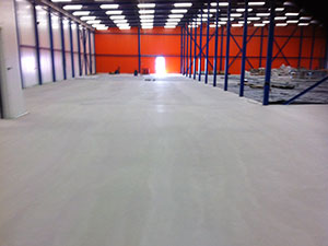 FASTFLOOR-IT Pump Screed Completed