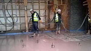 underfloor heating screed service