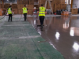 Aplication of Pump Screed