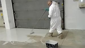 Application of Epoxy Coating