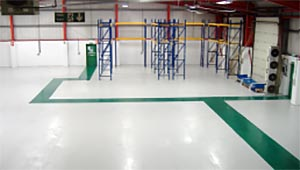 Completed Refurbished Epoxy Coated Floor