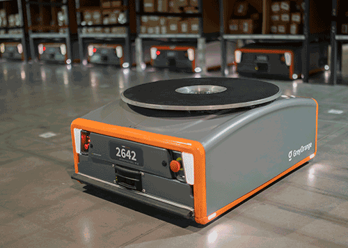 Floor Grinding for Automated Warehouses -  Grey Orange Robot
